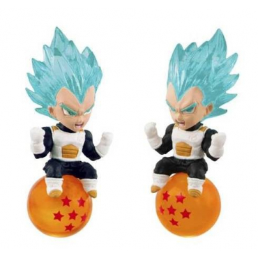 Dragon Ball Super - Strap Mini Figurine Vegeta Super Saiyan God