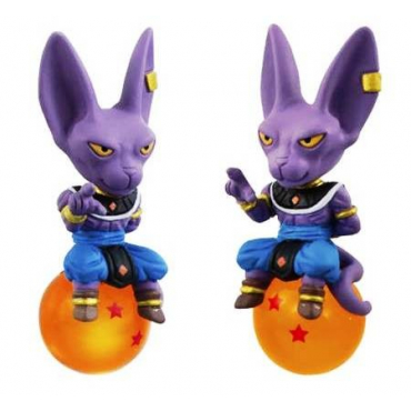 Dragon Ball Super - Strap Mini Figurine Beerus
