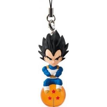 Dragon Ball Super - Strap Mini Figurine Vegeta QD Mascott