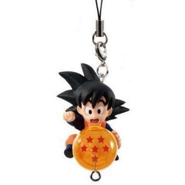 Dragon Ball Super - Strap Mini Figurine Goten QD Mascott