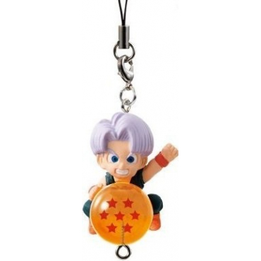 Dragon Ball Super - Strap Mini Figurine Trunks QD Mascott