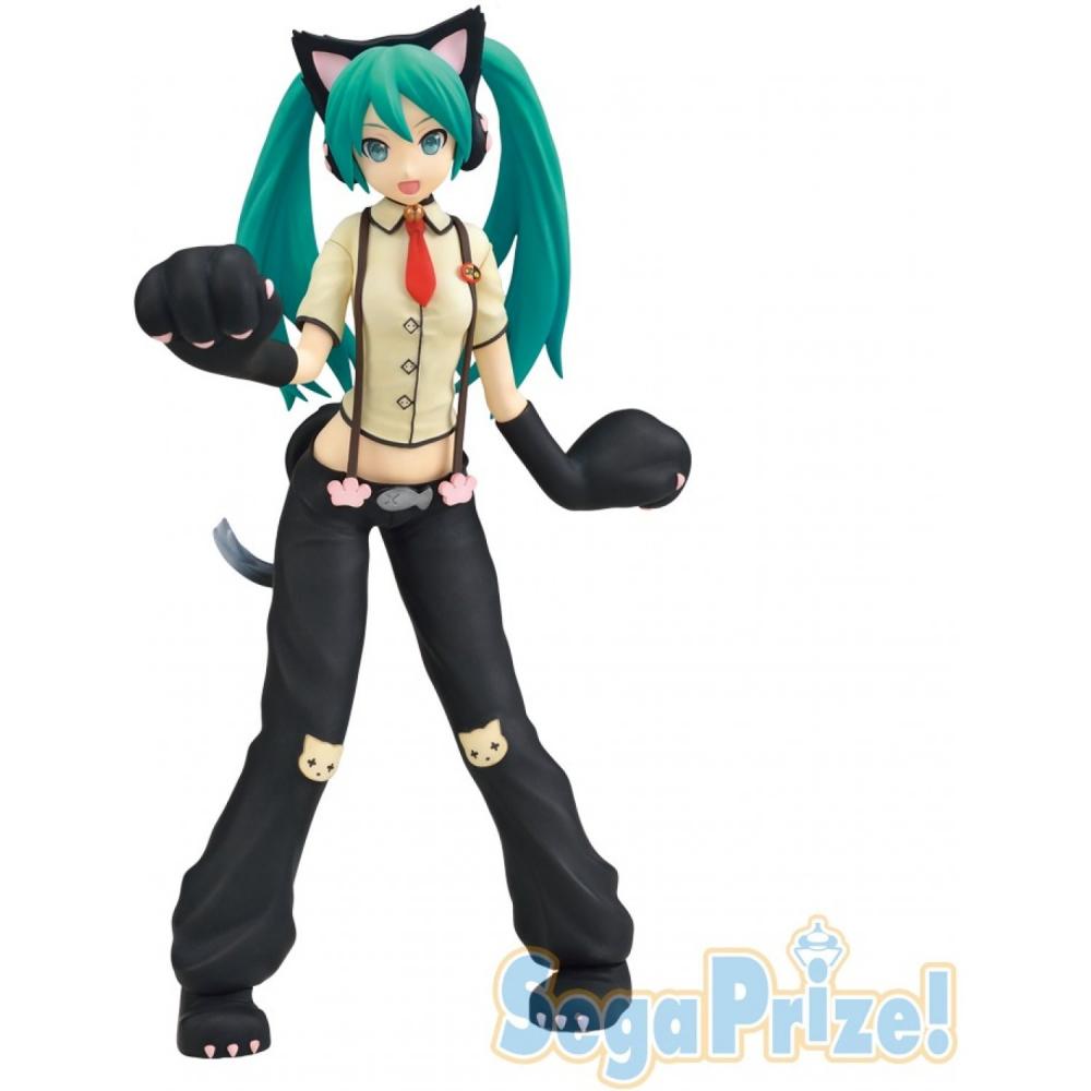 Vocaloid - Figurine Hatsune miku Nyanko Version SPM