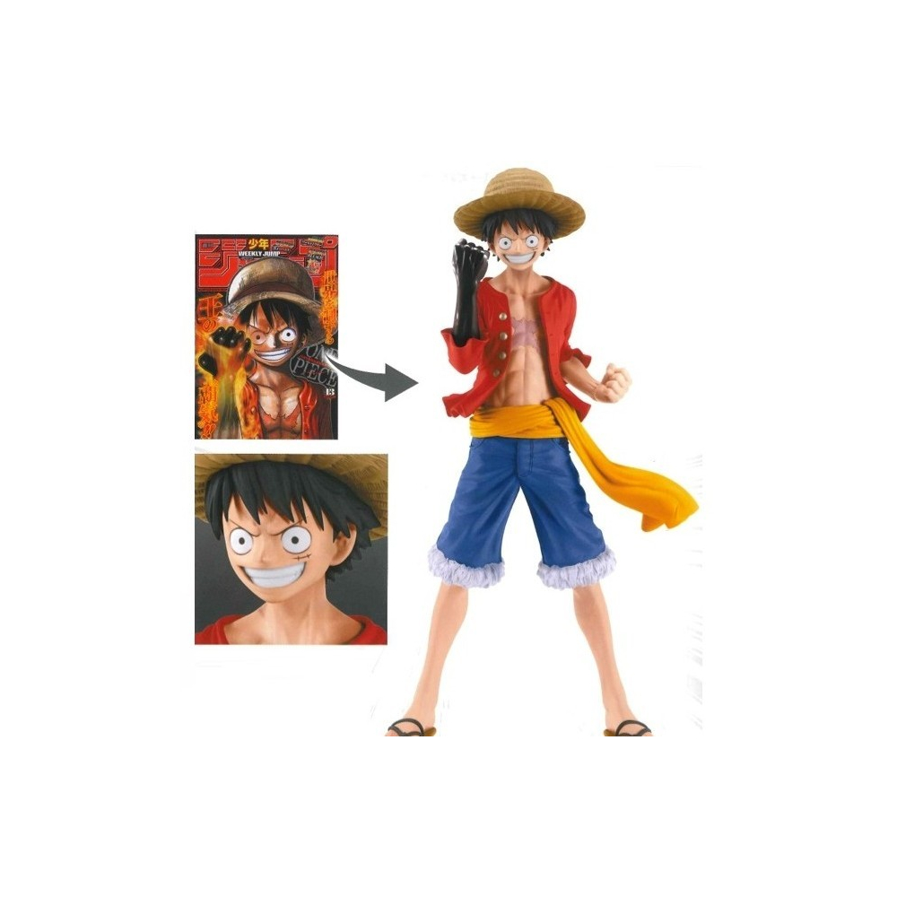One Piece - Figurine Monkey D Luffy Jump 50th Anniversary