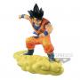 Dragon Ball Z - Figurine Son Goku Adolescent sur Nuage Magique