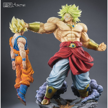 Dragon Ball Z - Figurine Broly Le super Saiyan Légendaire HQS +