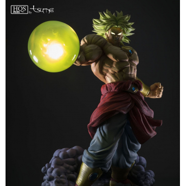 Dragon Ball Z - Figurine Broly Legendary Super Saiyan King of Destruction ver. HQS+