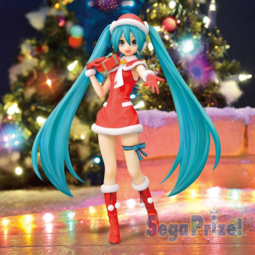 Vocaloid - Figurine Hatsune Miku Christmas Version 1.5