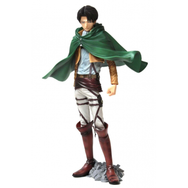 Attack On Titan - Figurine Levi Rivaille Master Stars Piece