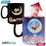Sailor Moon - Mug Thermo Reactif Sailor Moon Et Chibi Moon
