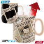 One Piece - Mug Thermo Reactif Wanted