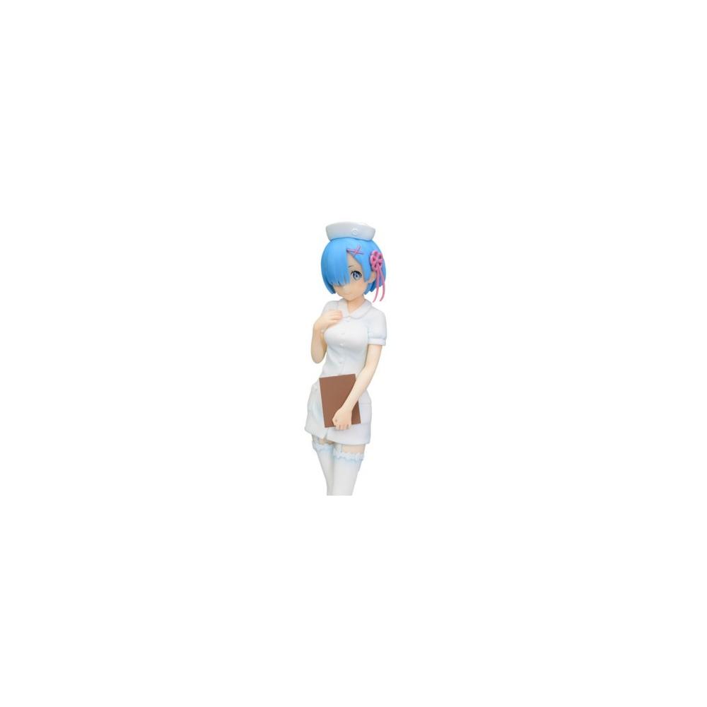Re:Zero kara Hajimeru Isekai Seikatsu - Figurine Rem Nurse Infirimiere