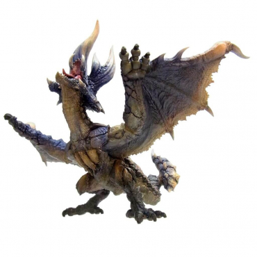 Monster Hunter - Figurine Massacre Demon Diablos on a rampage Standard Model Plus Vol.8