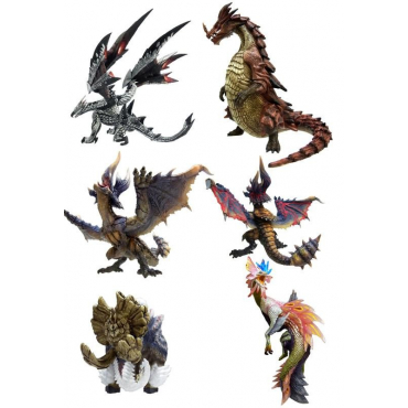 Monster Hunter - Pack Figurines Standard Model Plus Vol.8