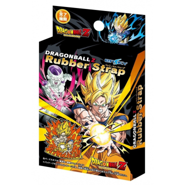 Dragon Ball Z - Pack 7 Rubber Strap
