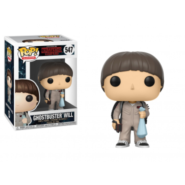 Stranger Things - Figurine POP Ghostbuster Will