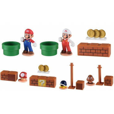 Mario - Pack Mini Figurines Mario