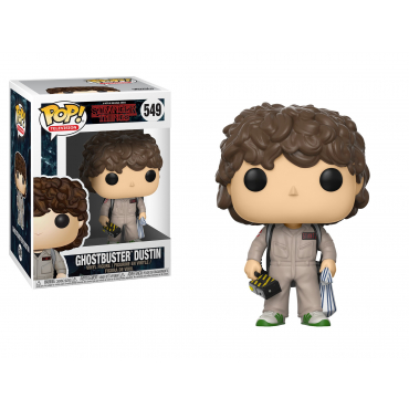 Stranger Things - Figurine POP Ghostbuster Dustin