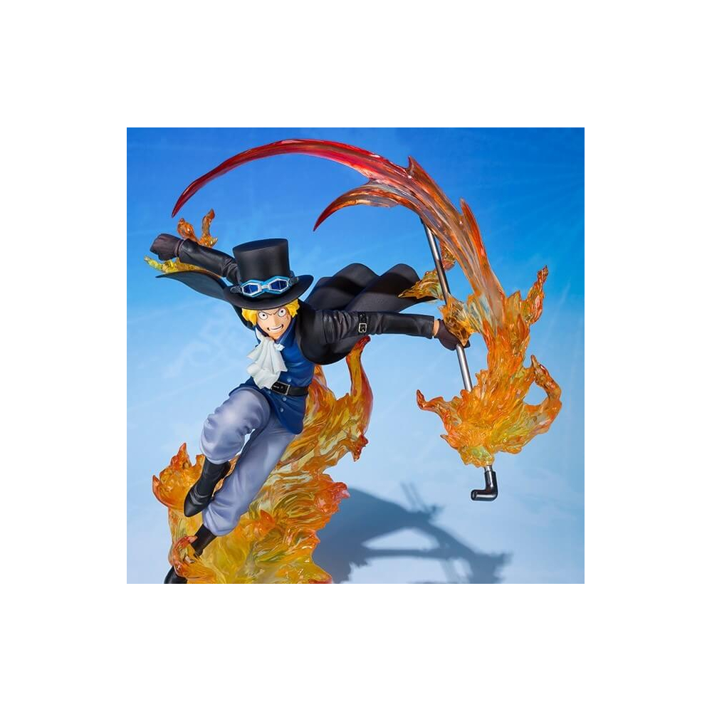 One Piece - Figurine Sabo Figuarts Zero Fire Fist