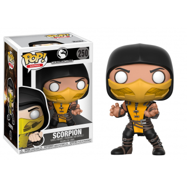 Mortal Kombat X - Figurine POP Scorpion
