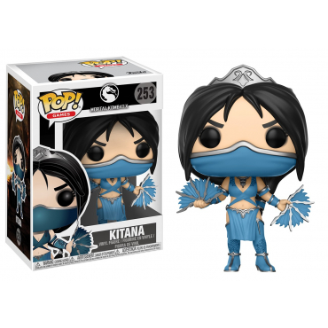 Mortal Kombat - Figurine POP Kitana