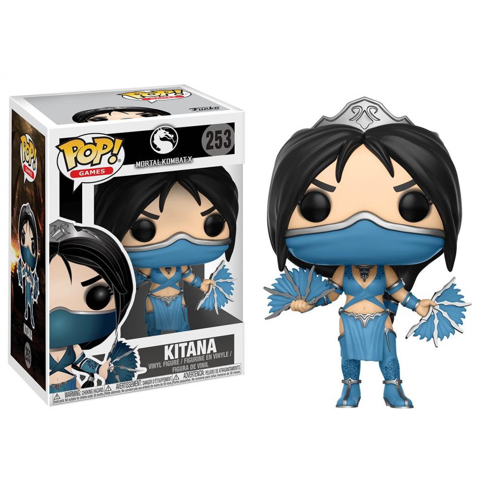 Mortal Kombat - Figurine POP Kitana