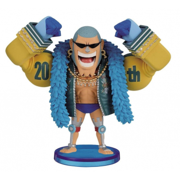 One Piece - Figurine Franky WCF 20TH Vol.2