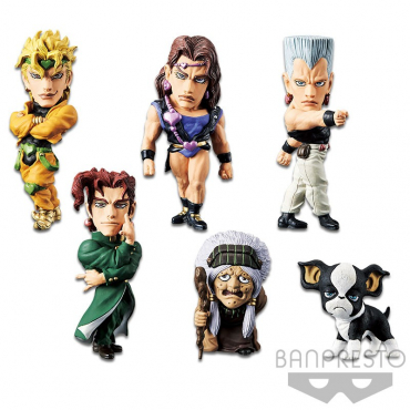 Jojo's Bizarre Adventure Stardust Crusaders - Pack Figurines WCF Vol.7