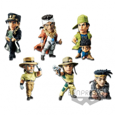 Jojo's Bizarre Adventure Stardust Crusaders - Pack Figurines WCF Vol.6