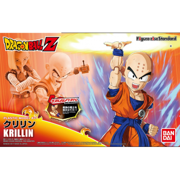 Dragon Ball Z - Figurine Krilin Figure Rise Model Kit