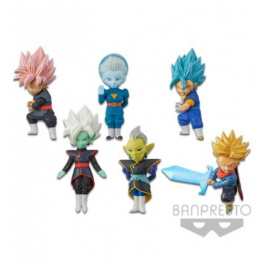 Dragon Ball Super - Pack Figurines WCF Vol.7