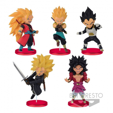 Super Dragon Ball Heroes - Pack Figurines WCF Vol.2