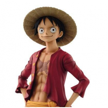One Piece - Figurine Monkey D Luffy Grandista The Grandline Man
