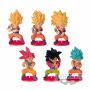 Dragon Ball Super - Pack Figurines Son Goku WCF Vol.10