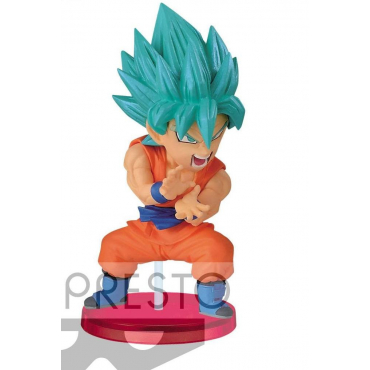 Dragon Ball Super - Figurine Son Goku Super Saiyan God WCF DB060
