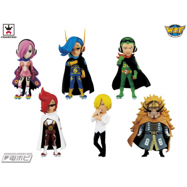 One Piece - Pack Figurines VSF WCF