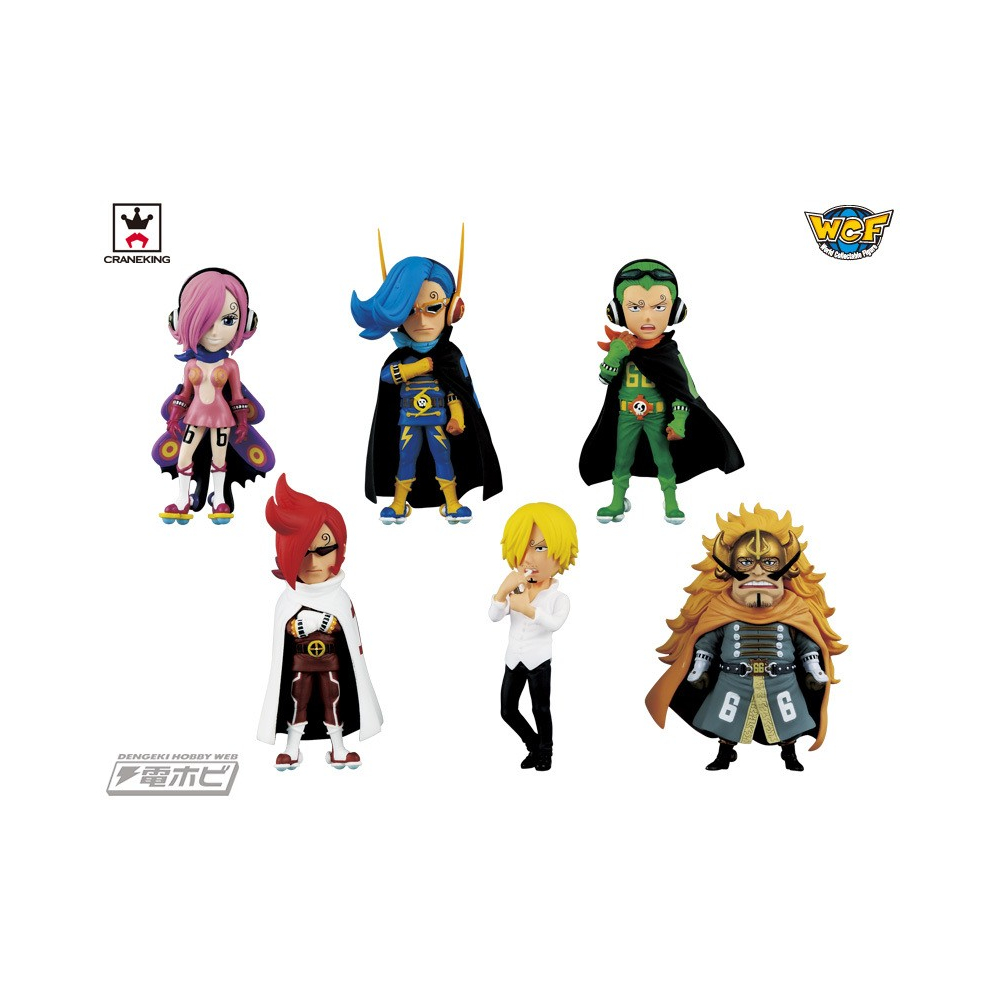 One Piece - Pack Figurines VSF WCF