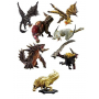 Monster Hunter - Pack Sept Figurines Builder Anger Plus