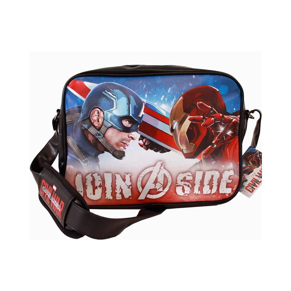 Avengers- Sac Bandoulière Captain America et Iron Man V2