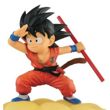 Dragon Ball - Figurine Son Goku Flying Nimbus Normal Color Version