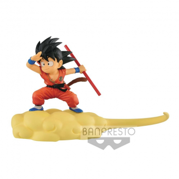 Dragon Ball - Figurine Son Goku Flying Nimbus Normal Color Version