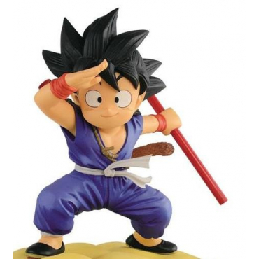 Dragon Ball - Figurine Son Goku Flying Nimbus Special Color Version
