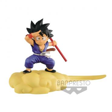 Dragon Ball - Figurine Son Goku Flying Nimbus Special Color Version