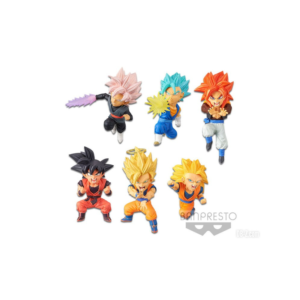Dragon Ball Super - Pack Figurines WCF SB