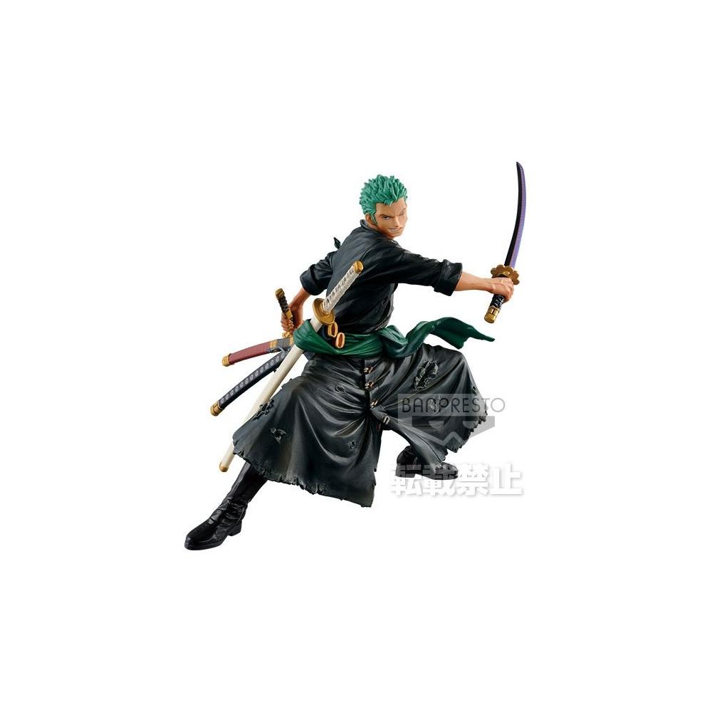 One Piece - Figurine Zoukei Monogatari Roronoa Zoro Special Color Ver.