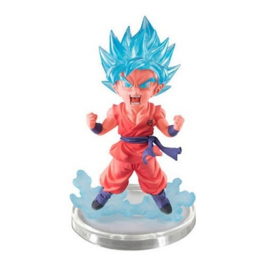 Dragon Ball Super - Mini Figurine Goku Super Saiyan God Kaioken Ultimate Grade Serie 7