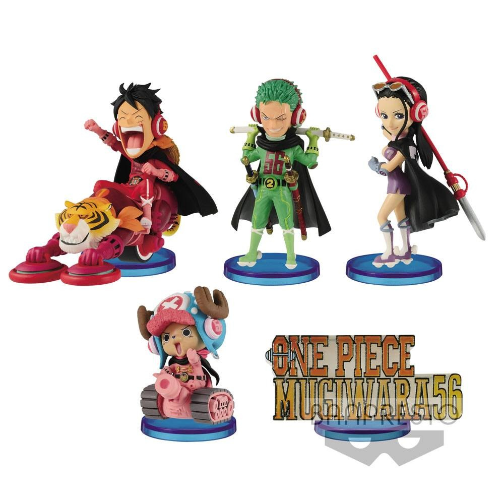One Piece - Figurines WCF ChiBi Mugiwara56 Vol. 1