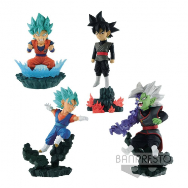 Dragon Ball Super -  Figurines WCF Chibi Diorama Vol.1