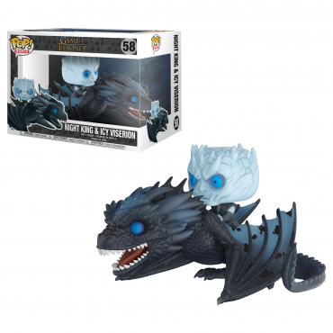 Game Of Thrones - Figurine POP Night et Ice Viserion