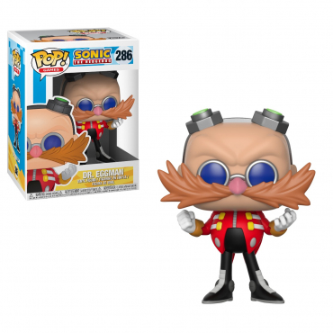 Sonic The Hedgehog - Figurine POP Dr. Eggman