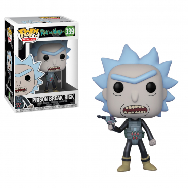 Rick Et Morty - Figurine POP Rick Prison Break